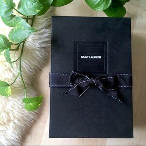 SAINT LAURENT Medium Gift Shoe Box Only Empty